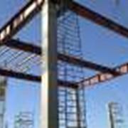 Монтаж металлических конструкций: балки, ригели, связи, прогоны и т.п. фото