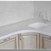Столешница кухонная из мрамора фото