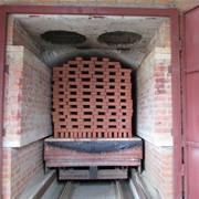 Туннельная печь обжига керамического кирпича фото