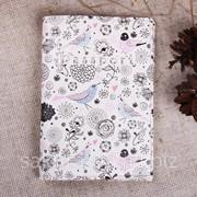 Обложка на Паспорт / Птички Цветочки / Экокожа x00005 фото