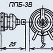 Резистор переменный ППБ-3В 3,3 кОм фото
