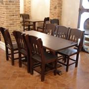 Комплект мебели для кафе фото