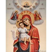 Икона Пресвятой Богородицы Достойно есть фото