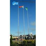 Флагштоки эконом 6 метров фото