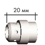 ICF0039 Диффузор газовый пластик 20мм., для горелки MIG 24 фото