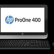 Сервер HP ProOne 400 AiO i5-4570 500G 4.0G DVDRW Win8.1/Win7 Pro 19.5 WLED HD 720p HD WebCam Core i5-4570 2.9GHz фото
