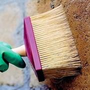 Покраска бетонного забора Запорожье.Цветные заборы фото