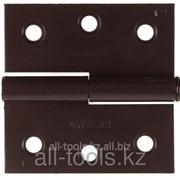 Петля дверная Stayer Master разъемная, цвет белый цинк, левая, 65мм Код: 37613-65-1L фото