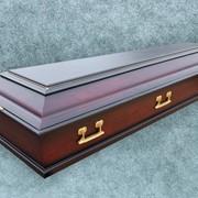 Гроб Колода (сосна) матовый фото