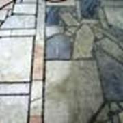 Покрытия полов из искусственного камня фото