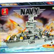 Конструктор Военно-морская серия 577 фото
