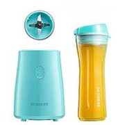 Блендер Xiaomi Qcooker Portable Cooking Machine Youth version blue фото