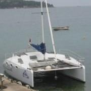 Крейсерский, парусно-моторный катамаран INDIGO 920 фото