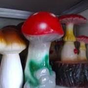 Садовые фигуры (грибы) фото