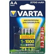 Аккумулятор АА Varta HR6-2BL 2700мА-ч Ni-Mh в блистере 2шт. фото