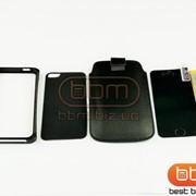 Аксессуар Bumpers for iPhone 5S (ELEMENT RONIN II - G610 замш) черный 57799g фото