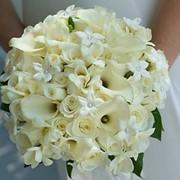 Составление букета невесты фото