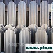 Garduri din ştachet metalic. Заборы из металлоштакетника фото