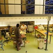 Стеллажи мезонинные проект: Ван Дер Гааг БиВи, Нидерланды фото