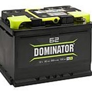 Аккумулятор Dominator 62 а/ч R фото