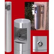 Тумба-урна для сигарет CENDINOX, устанавливаемая вне помещения фото