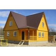 Дом каркасно-щитовой Проект №42 (9х9) фото