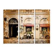 Картина Велосипед у кафе фото