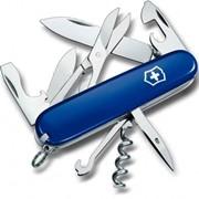 Climber Victorinox нож складной офицерский, 14 в 1, Синий, (1.3703.2R) фото