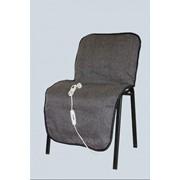 Накидка с обогревом на стул размер 54х117см фото