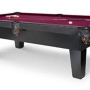 Бильярдный стол для пула SHERATON 8 ф. темно - коричневый фото