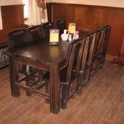 Мебель деревянная для баров, кафе и ресторанов фото