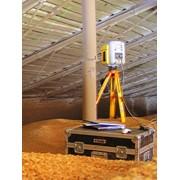 Высокоточное измерение объёмов сыпучих материалов и инвентаризация складов сырья фото