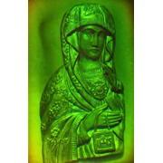 Голограмма художественная Богоматерь Шкаплерная фото