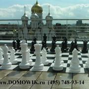 Аренда напольных шахмат КШ-25 фото