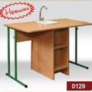 Лабораторный стол для химии. Мебель для школы фото
