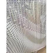 Тюль сетка вышивка фото
