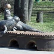 Скульптурный пейзаж фото