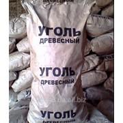 Уголь древесный на экспорт фото