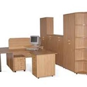 Офисная мебель из дерева фото