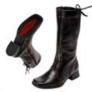 Обувь для девочек 1860 черный фото