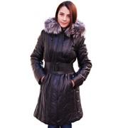 Пуховик кожаный женский, продажа, консультация фото