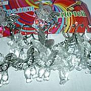Брелок Ангел прозрачный KL-451 5см фото