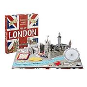 """Дженни Майзелс Книга-панорама """"Путешествие. Лондон"""" на английском фото"""