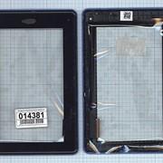 Сенсорное стекло (тачскрин) для Acer Iconia Tab B1-A71 черный c рамкой, Диагональ 7 фото