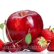 Яблоко с вишней и клубникой отдушка-10 мл фото