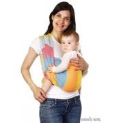 Слинг шарф Ромбы, радуга фото