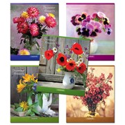 Тетрадь 96 л Summer flowers, кл, ф. А5, (Тетрапром) фото