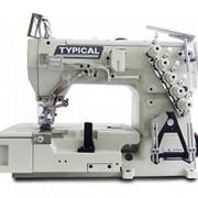 Промышленные плоскошовные машины 3-х игольная, 5-ти ниточная плоскошовная машина TYPICAL GK1500-01 фото