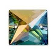 Стразы Swarovski арт 3240. Цвет-Crystal AB. 16x16mm фото