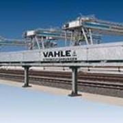 Шинопровод троллейный к доковым кранам, кранам-перегружателям, тяжелым козловым кранам, контейнерным кранам. фото